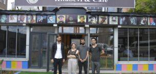 Ağrı'da Tutunamayanlar Kitabevi & Kafe hizmete başladı !!!