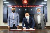 Doğubayazıt Ömer Çoktin Fen Lisesi yapım işi protokolü imzalandı