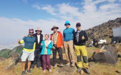 Ağrı Dağı dağcıların ilgi odağı oldu