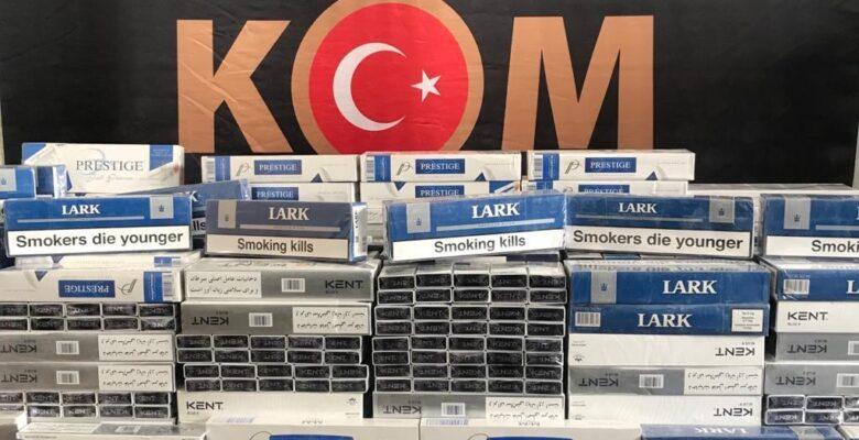 Ağrı'da 2 bin 500 karton kaçak sigara ele geçirildi