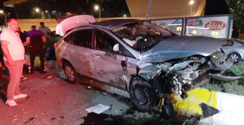 Ağrı'da trafik kazası; 1 yaralı