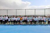 Ağrı'da Ağrı Dağı Tenis Turnuvası başladı