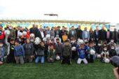Ağrı Spordan çocuklara malzeme desteği