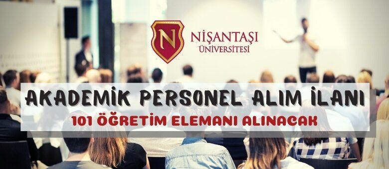 Nişantaşı Üniversitesinden akademik personel alım ilanı