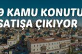 Gaziantep'te 39 adet kamu konutu ihale ile satılacaktır
