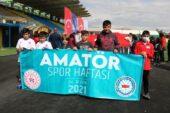 Ağrı'da 'Amatör Spor Haftası' kortej yürüyüşü başladı