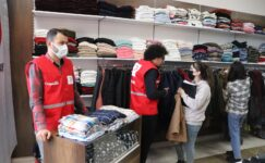 Türk Kızılay'ı 47. Butik Mağazasını AİÇÜ'de açtı